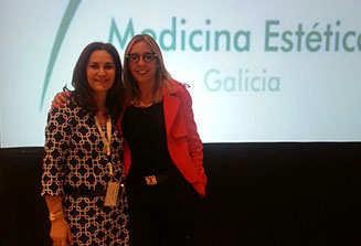 Con la Dra. Beatriz Beltrán. Excelente profesional y amiga que nunca me falta en las Jornadas.